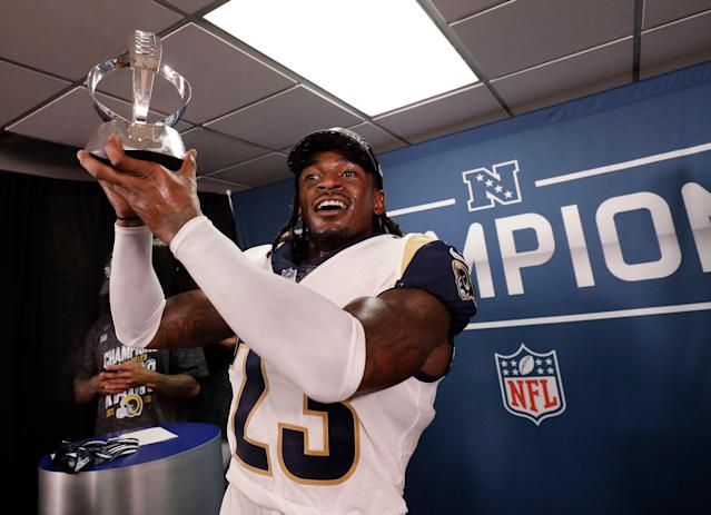 Los Angeles Rams defensive back Nickell Robey-Coleman will be celebrating with classmates at the University of Southern California after earning his bachelor's degree.