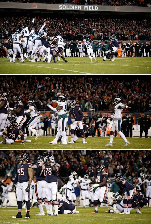 Treyvon Hester got a finger on the kick, and chaos has ensued ever since. | Jeff Haynes/Sports Illustrated (3)