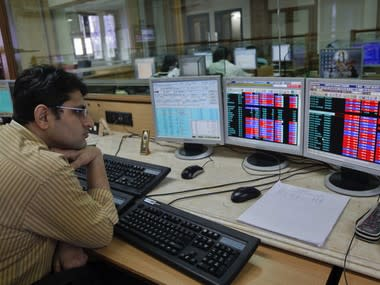 Sensex, Nifty pulled down by political drama over government formation in Karnataka, global cues