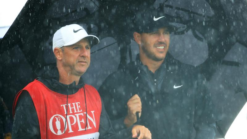 Caddy connection helps Brooks Koepka at British Open