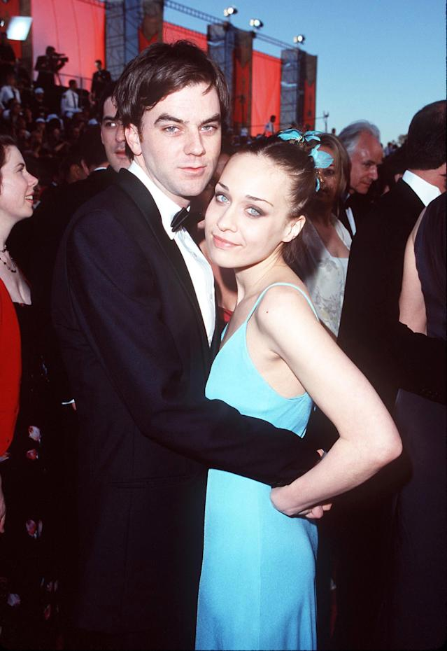 Apple claims her ex Anderson lost his temper after the 1998 Oscars. (Photo: SGranitz/WireImage)