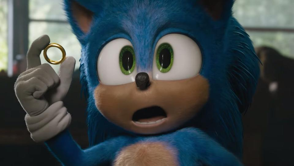 Sonic The Hedgehog (Credit: Paramount)