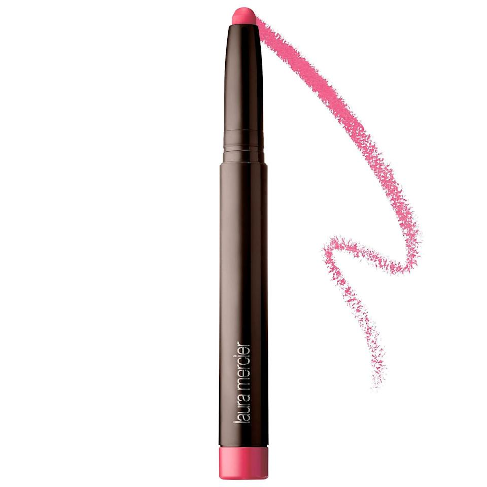 """<p><strong>Laura Mercier</strong></p><p>sephora.com</p><p><strong>$30.00</strong></p><p><a href=""""https://go.redirectingat.com?id=74968X1596630&url=https%3A%2F%2Fwww.sephora.com%2Fproduct%2Fvelour-extreme-matte-lipstick-P427041&sref=https%3A%2F%2Fwww.womenshealthmag.com%2Fbeauty%2Fg32981827%2Fbest-matte-lipstick%2F"""" rel=""""nofollow noopener"""" target=""""_blank"""" data-ylk=""""slk:Shop Now"""" class=""""link rapid-noclick-resp"""">Shop Now</a></p><p>This richly-shaded lipstick gives you a full-coverage finish (without multiple passes!) and feels super soft. </p>"""