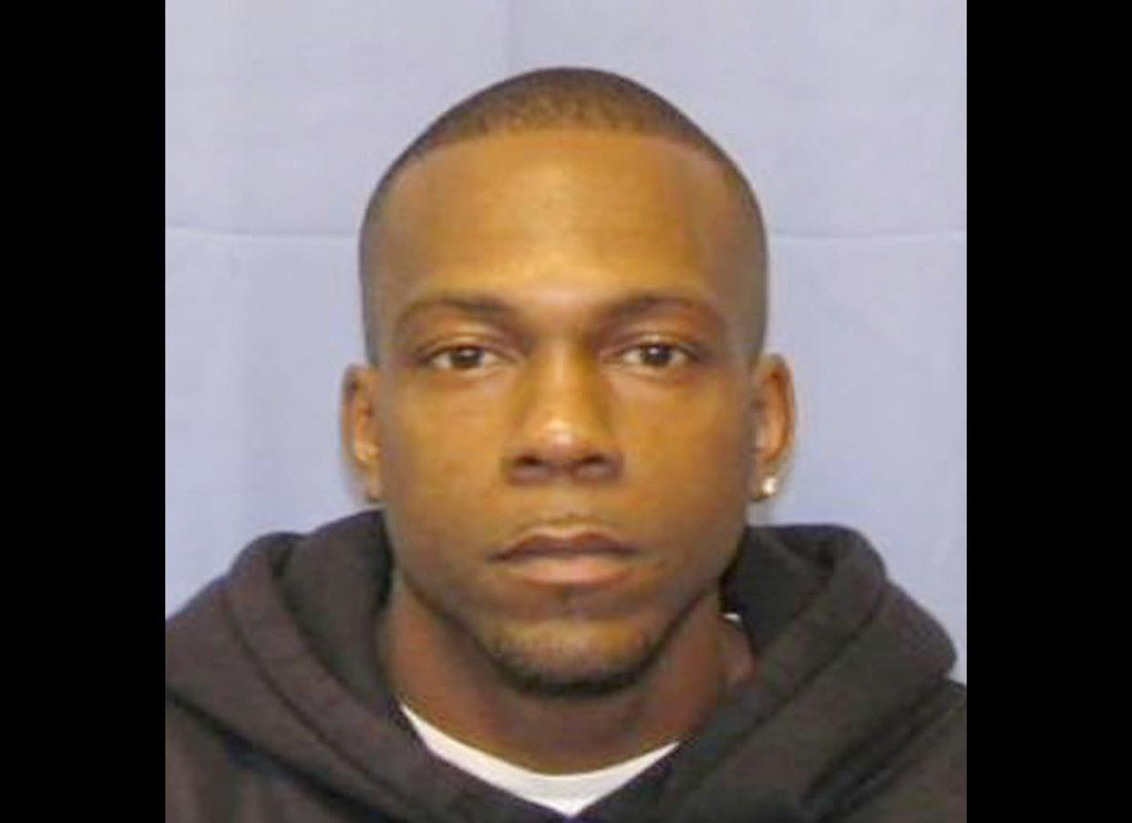 Police in Harrisburg, Pa., say Daniel Rahynes, 35, attempted to rob a bank after telling employees he wanted to open an account and showing the teller his ID.