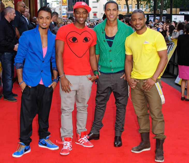JLS photos: We need sunnies to look at this pic, we're dazzled.