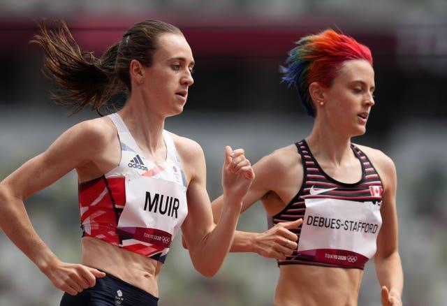 Laura Muir comfortably progressed into the 1500m semi-finals
