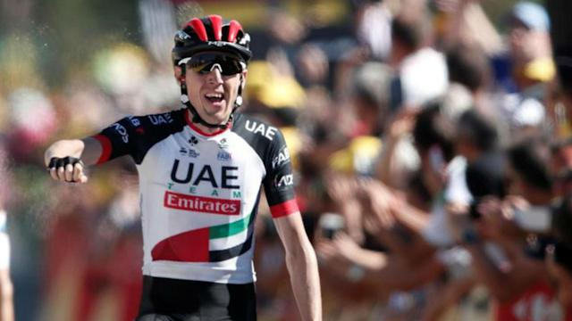 Three years after finishing second on the Mur-de-Bretagne, Dan Martin claimed the second Tour de France stage victory of his career.