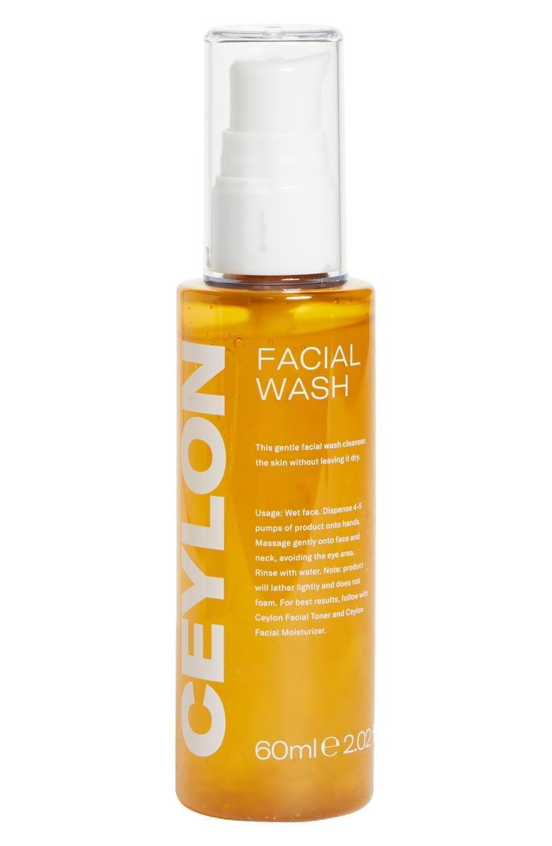 <p>Keep your skin clean and clear with this <span>Ceylon Facial Wash</span> ($30).</p>