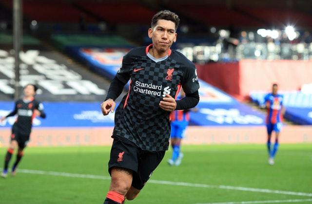 Roberto Firmino scored twice in a clinical display