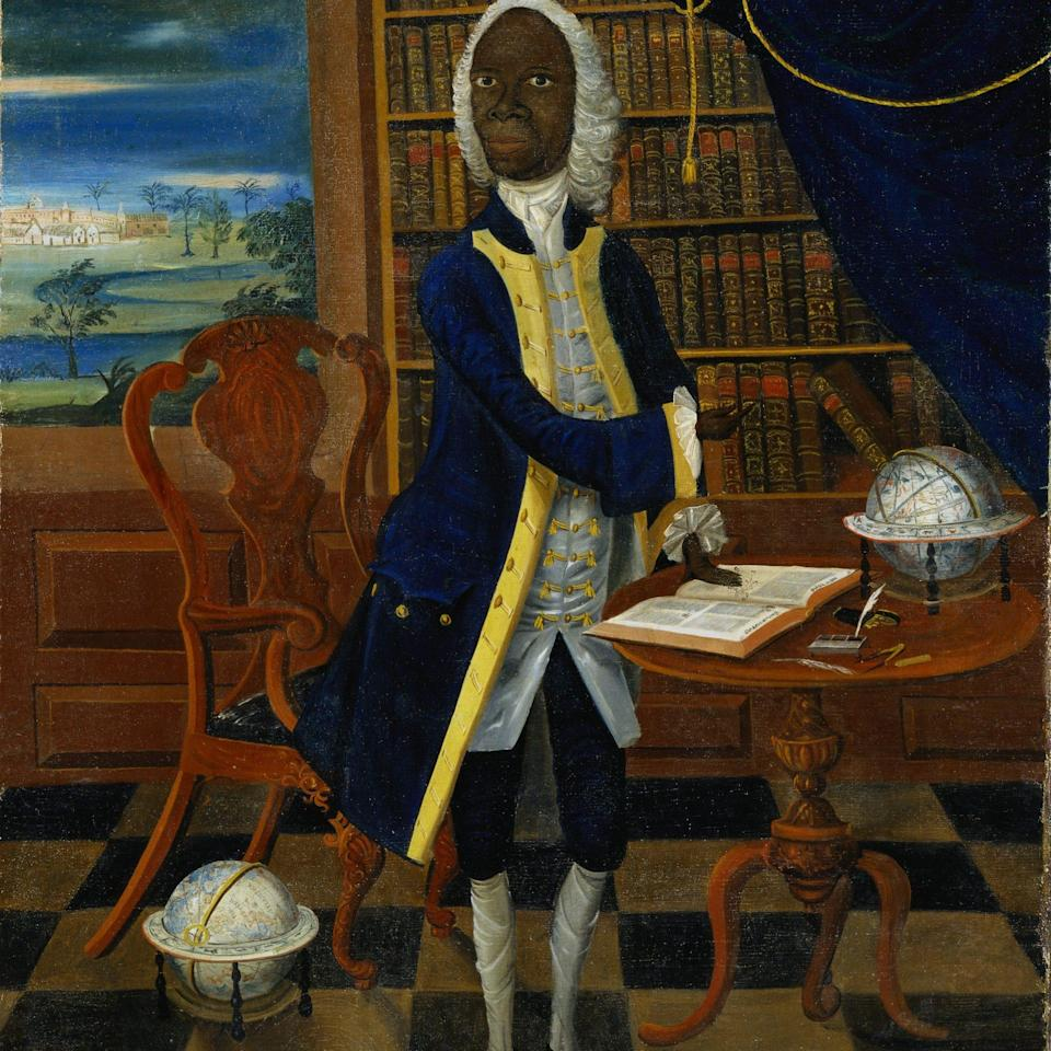 A mid-18th-century portrait of Francis Williams, the Jamaican mathematician and poet - Alamy