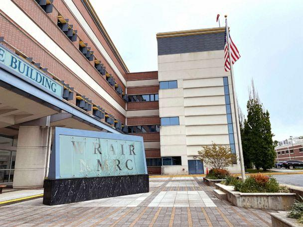 PHOTO: The Walter Reed Army Institute of Research (WRAIR), founded in 1893, is located in Silver Spring, Md. (Matt Seyler/ABC News)