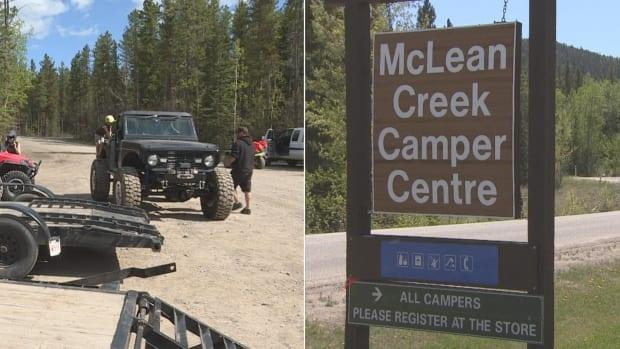 The Kananaskis Conservation pass — which will cost users $90 annually, or $15 per visit — won't include the McLean Creek area. Those who fight for conservation say that's a mistake. (CBC News - image credit)