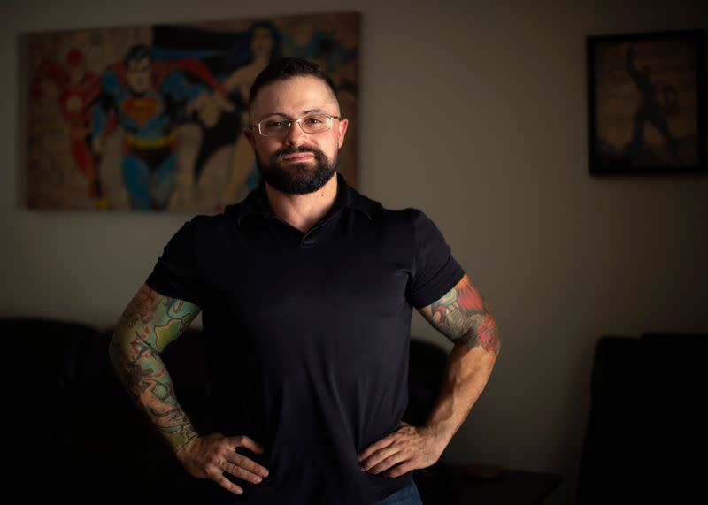 Transgender man's dream of joining U.S. military thwarted for now