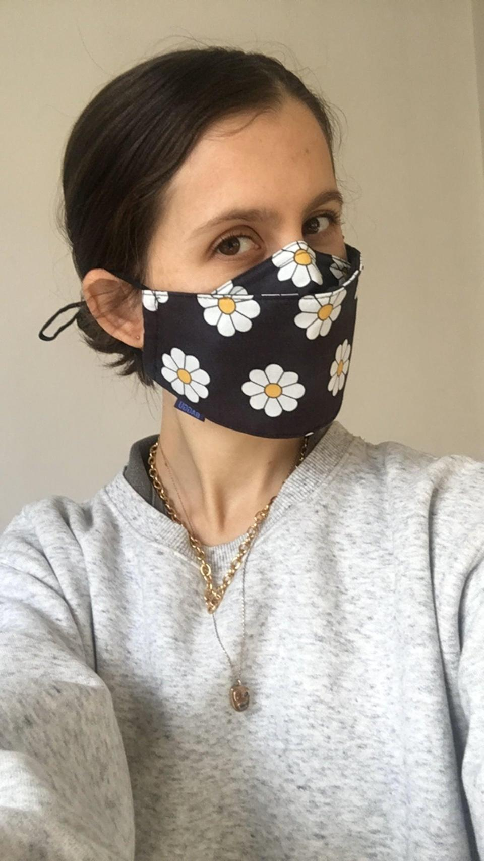 """<h2>Baggu Fabric Mask Set</h2><br><strong>Last Month's Top MVP:</strong><br>""""One thing that covid has taught me about myself is that I apparently have a really small face? I've ordered probably 8 different masks/styles and they are all too big and fall off my face. I have one cotton mask where I've knotted the ear straps so it fits properly, but I've been sick of wearing the same dreary black fabric over my face every day. I decided to give these Baggu masks a try since they're a different shape than most and have adjustable straps. Success! They fit well and the daisy print makes me smile."""" <em>– Kate Spencer, Creative & Updates Editor</em><br><br><em>Shop <strong><a href=""""https://baggu.com/collections/reusable-masks/products/fabric-mask-set-loop-daisy-1"""" rel=""""nofollow noopener"""" target=""""_blank"""" data-ylk=""""slk:Baggu"""" class=""""link rapid-noclick-resp"""">Baggu</a></strong></em><br><em>Shop <strong><a href=""""https://amzn.to/3pYxyPn"""" rel=""""nofollow noopener"""" target=""""_blank"""" data-ylk=""""slk:Amazon"""" class=""""link rapid-noclick-resp"""">Amazon</a></strong></em><br><br><strong>Baggu</strong> Fabric Mask Set, $, available at <a href=""""https://go.skimresources.com/?id=30283X879131&url=https%3A%2F%2Fbaggu.com%2Fcollections%2Freusable-masks%2Fproducts%2Ffabric-mask-set-loop-daisy-1"""" rel=""""nofollow noopener"""" target=""""_blank"""" data-ylk=""""slk:Baggu"""" class=""""link rapid-noclick-resp"""">Baggu</a>"""