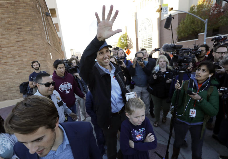 Democrat Beto O'Rourke lost his quixotic bid to unseat GOP Sen. Ted Cruz in Texas. But O'Rourke's run left his party in a far better position to compete in the state down the road. (ASSOCIATED PRESS)