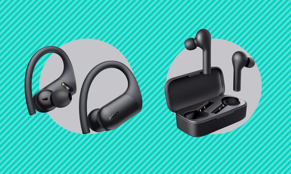 Save up to 58 percent off these wireless earbuds. (Photo: Amazon)