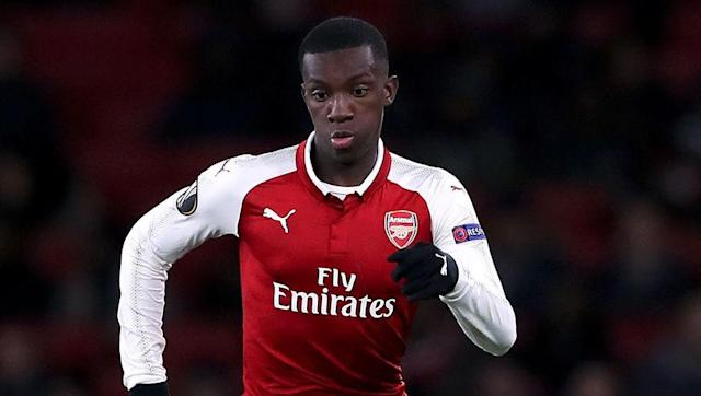 <p>Young Arsenal forward Eddie Nketiah finished 2017 by signing a new long-term contract with the Gunners, coming just a few weeks after he netted his first two senior goals in a Carabao Cup tie against Norwich, including an extra-time winner.</p> <br><p>Manager Arsene Wenger has already promised that 18-year-old Nketiah 'continue to get a chance' when quizzed about the player's immediate prospects in October. </p>