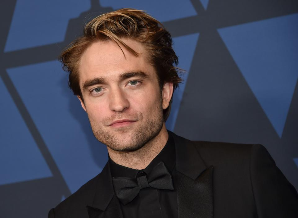 British actor Robert Pattinson arrives to attend the 11th Annual Governors Awards gala hosted by the Academy of Motion Picture Arts and Sciences at the Dolby Theater in Hollywood on October 27, 2019. (Photo by Chris Delmas / AFP) (Photo by CHRIS DELMAS/AFP via Getty Images)
