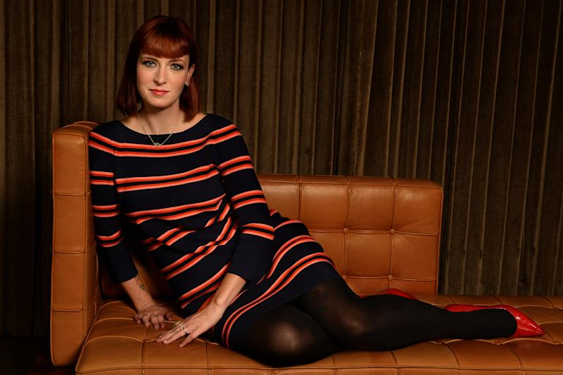 "Writer Diablo Cody of the film ""Paradise"" poses for a portrait at the SLS Hotel on Thursday, Oct. 10, 2013 in Beverly Hills, Calif. (Photo by Jordan Strauss/Invision/AP)"