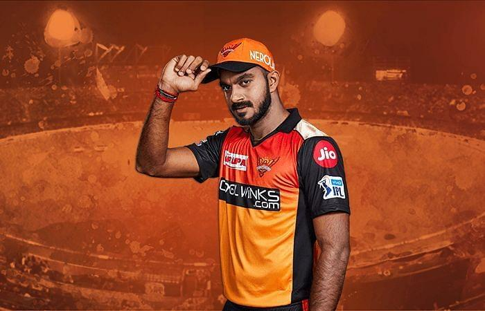 Vijay Shankar has a crucial role for SRH in this year's IPL