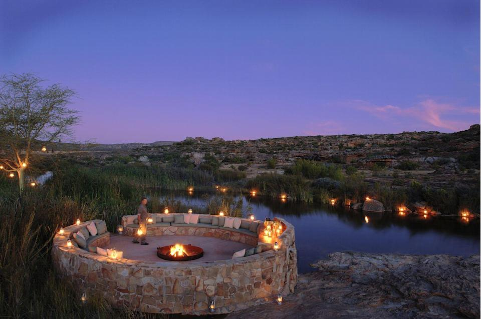"""<p>This wilderness reserve and wellness retreat in the Cederberg Mountains offers a fantastic getaway for family members ages eight and up. The eco-friendly oasis features 17 well-appointed rooms and suites, along with two fully catered private villas.</p><p><a href=""""https://bushmanskloof.co.za/"""" rel=""""nofollow noopener"""" target=""""_blank"""" data-ylk=""""slk:Bushman's Kloof"""" class=""""link rapid-noclick-resp"""">Bushman's Kloof</a>'s all-inclusive vacation offer features a four-night stay for the price of three, a traditional High Tea, and access to the resort's most thrilling adventures and stimulating cultural experiences. Stylish digs and fabulous cuisine in the lush wilderness of the Western Cape means there are plenty of opportunities to make lasting family memories while still enjoying modern luxuries. </p>"""