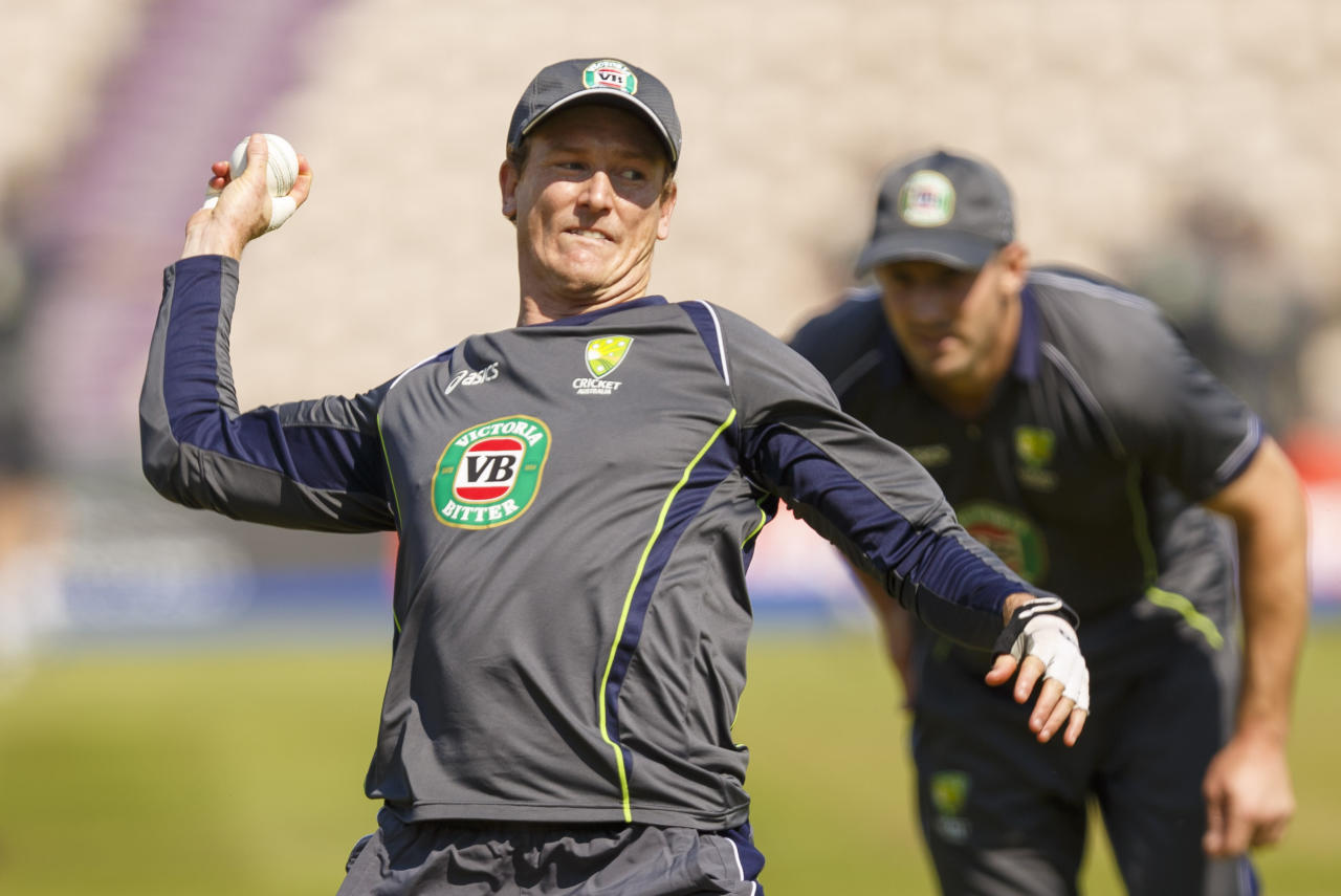 Australia cricket captain George Bailey during practice at the Ageas Bowl, Southampton.