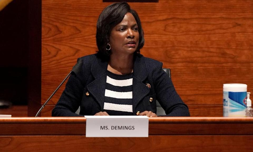 Democrats hoping to elevate someone with law enforcement credentials would like to see Florida congresswoman Val Demings.