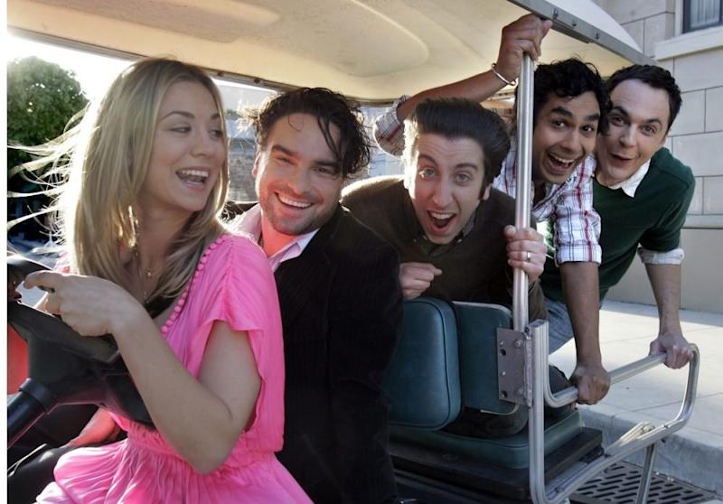 The   Big Bang Theory actors just revealed which cast member had sex in their dressing room, because this is vital information