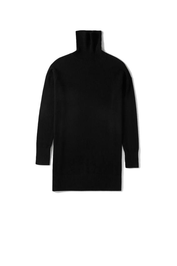 "<p><a class=""link rapid-noclick-resp"" href=""https://go.redirectingat.com?id=127X1599956&url=https%3A%2F%2Fwww.everlane.com%2Fproducts%2Fwomens-cashmere-turtleneck-dress-black%3Fcollection%3Dwomens-dresses&sref=https%3A%2F%2Fwww.harpersbazaar.com%2Fuk%2Ffashion%2Fwhat-to-wear%2Fnews%2Fg37237%2Fbest-jumper-dresses%2F"" rel=""nofollow noopener"" target=""_blank"" data-ylk=""slk:SHOP NOW"">SHOP NOW</a></p><p>Jumper dresses don't have to be oversized and longline. Thanks to the '60s influences (the subtle A-line shape and roll-neck), Everlane's mini iteration feels just as elegant. Style it with knee-high boots and opaque tights when you're out of the house. </p><p>Cashmere turtleneck dress, £171, Everlane </p>"
