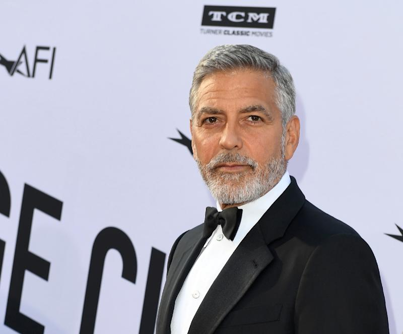 George Clooney injured in Italian motorbike crash