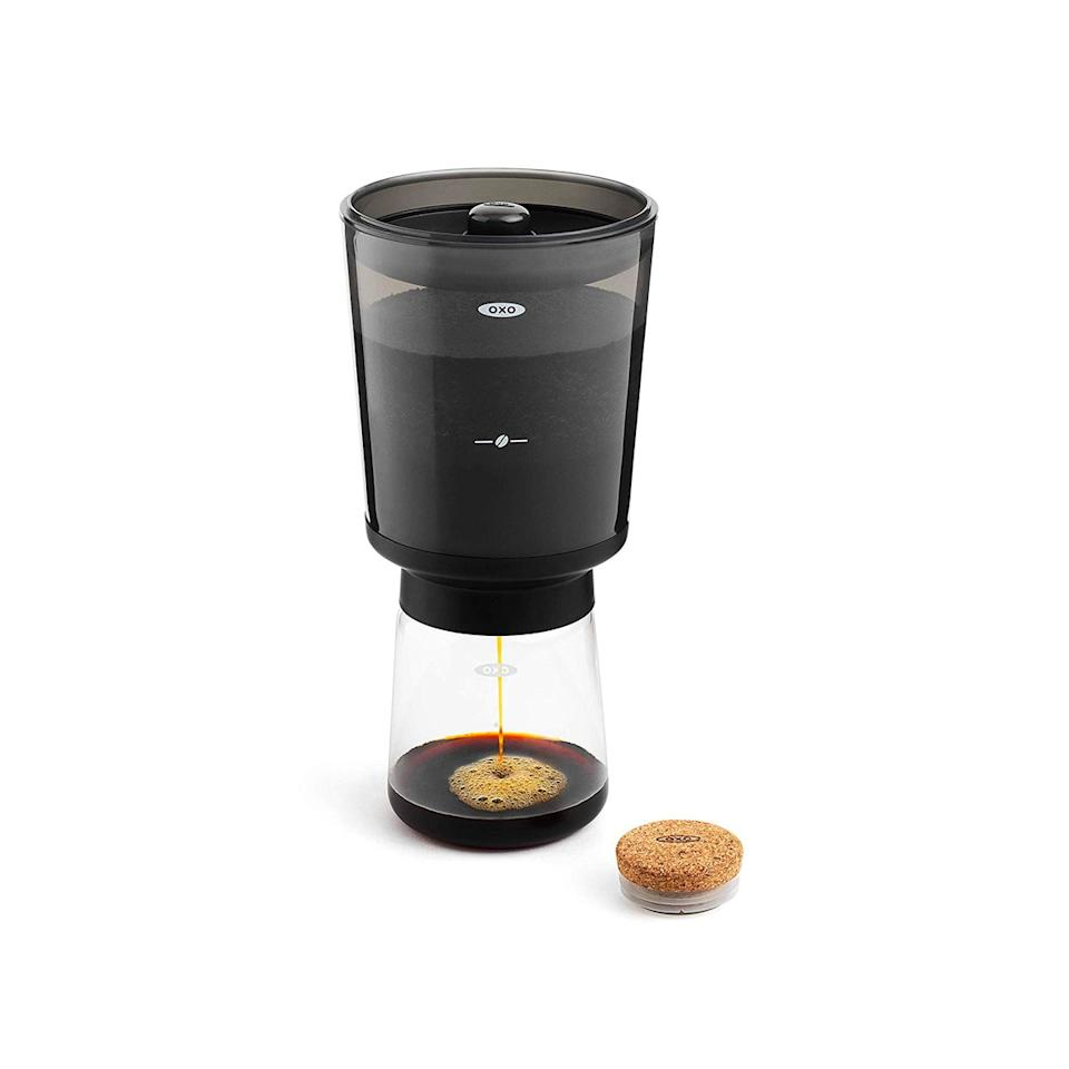 "$30, Amazon. <a href=""https://www.amazon.com/OXO-Cold-Coffee-Maker-11237500/dp/B07HB3GH6W"">Get it now!</a>"