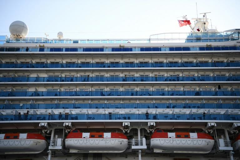 The Diamond Princess has been in quarantine since arriving off the Japanese coast early last week