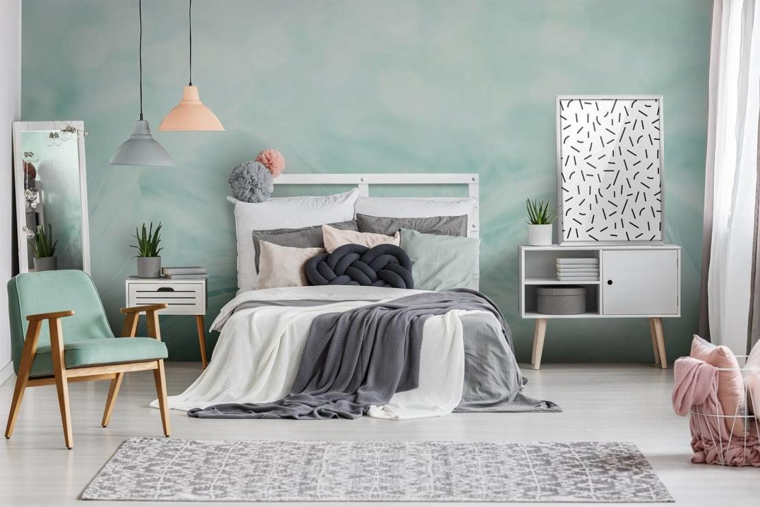 <p>Plan before you paint!</p><p>Start by thinking what that painted room must look like when completed. Remember that you're not limited to four walls in the same colour. How about painting an accent wall in a bold hue for visual emphasis? Is the ceiling in need of a new layer / colour?</p>  Credits: homify / Pixers