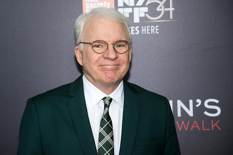 """Steve Martin attends the world premiere of """"Billy Lynn's Long Halftime Walk"""", during the 54th New York Film Festival, at AMC Loews Lincoln Square on Friday, Oct. 14, 2016, in New York. (Photo by Charles Sykes/Invision/AP)"""