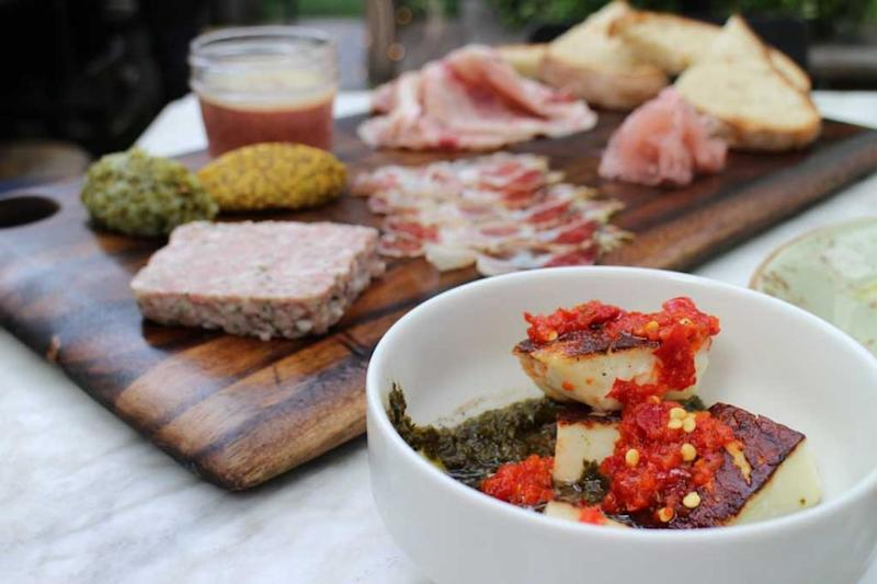 This is the incredible Charcuterie Plate at The Eveleigh. Source: Deborah Dickson-Smith