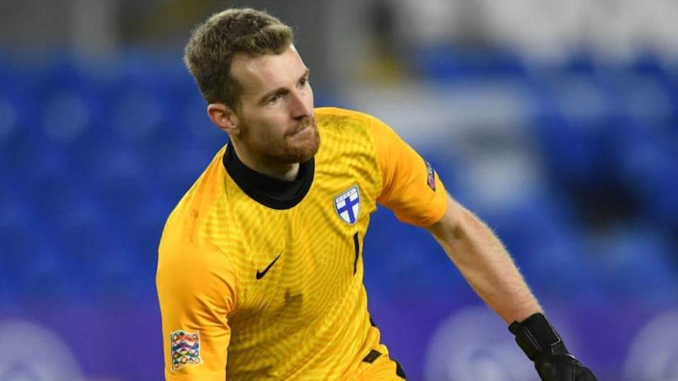 Hradecky - Wales v Finland - UEFA Nations League | Stu Forster/Getty Images