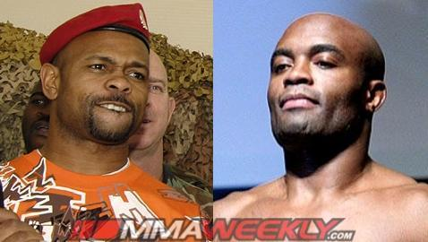 Roy Jones Jr. in Talks with Dana White About Anderson Silva Fight; It Could be an MMA Bout