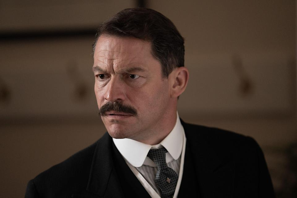 Dominic West in The Pursuit of Love (Theodora Films Limited & Moonage Pictures Limited/Robert Viglasky)