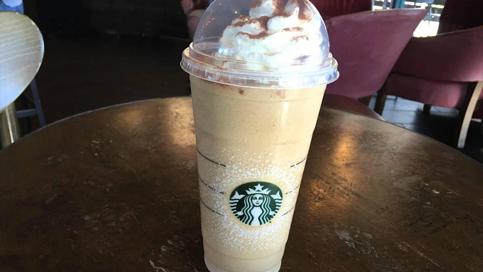 <p>Another divisive beverage. We'll let you draw your own conclusions for Starbuck's traditional winter offering. [Photo: Youtube] </p>