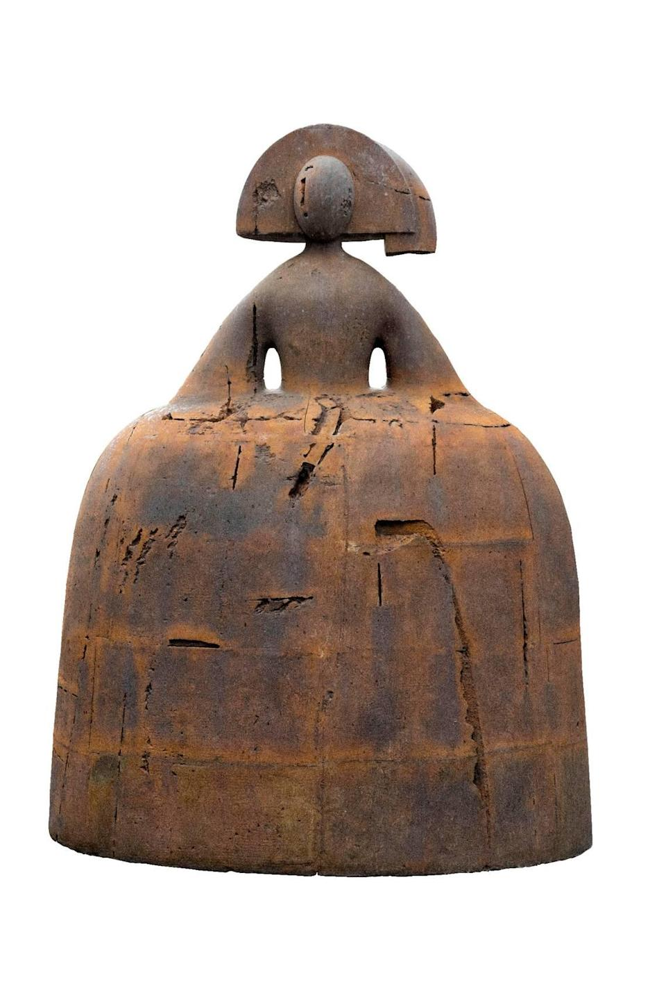 """Manolo Valdes' """"Menina de Bronze"""" will be among the sculptures featured in an outdoor exhibition in Doral."""