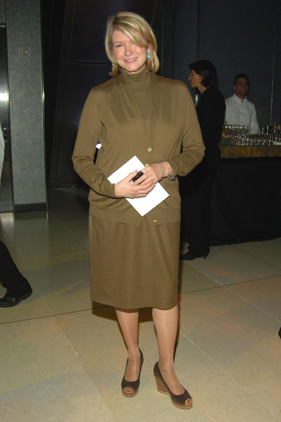Stewart at the inauguration of the Hearst Tower in New York City on Oct. 9, 2006.
