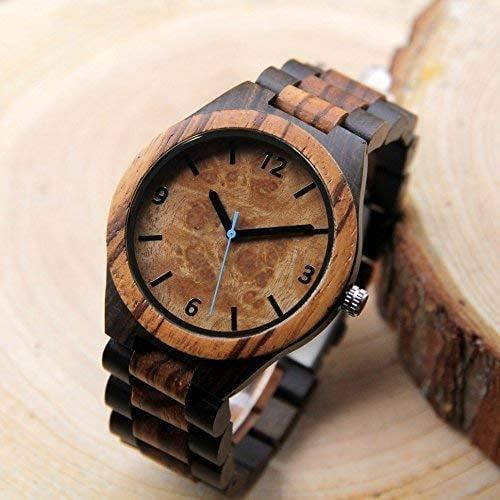 <p>They'll wear this stunningly handcrafted <span>Personalized Engraved Watch 90</span> ($57) every day. You can customize it with a personal message or their initials.</p>