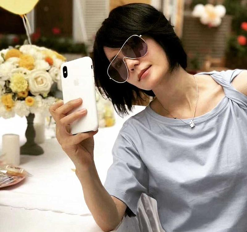 Is Faye Wong getting hitched? — Picture via Instagram/faye_fa_ye