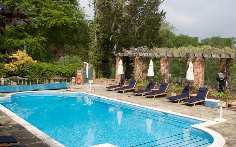 Chewton Glen, Hampshire - one of the best hotels with an outdoor pool in the UK