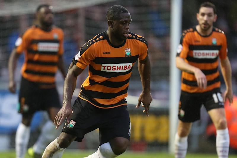 Bees blitz | John Akinde scored two goals in two minutes to seal the three points: Getty Images