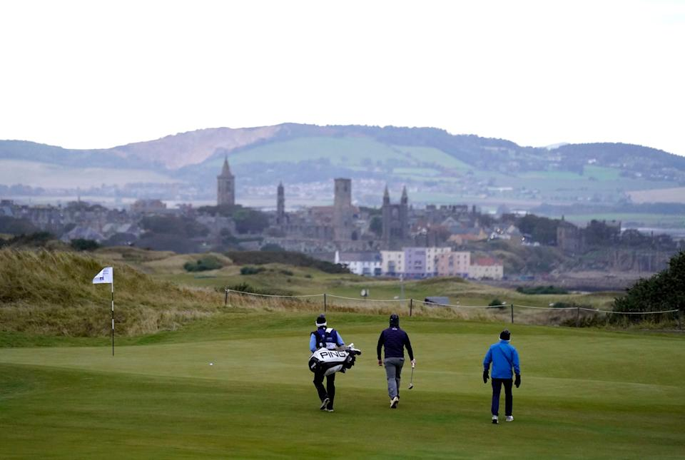 <p>Golf courses in England have been shut since 5 November</p>PA