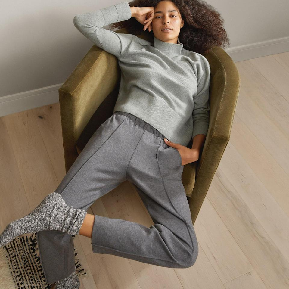 <p>You can't go wrong styling these classic <span>Everlane Dream Pants</span> ($68).</p>
