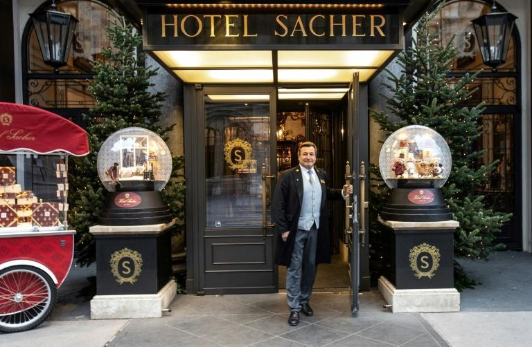 Vienna's Hotel Sacher is determined not to let fans of its world-famous chocolate cake go hungry