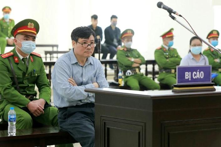 Vietnamese blogger Truong Duy Nhat was a regular contributor to Radio Free Asia and a critic of the government (AFP Photo/-)