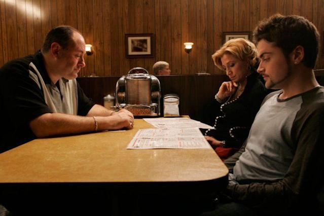 The <em>Sopranos</em> series finale. (Photo: HBO)